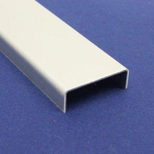 Versandmetall Profil en U, en aluminium, pliée, largeur c= jusqu'à 30mm et longueur 1.250mm