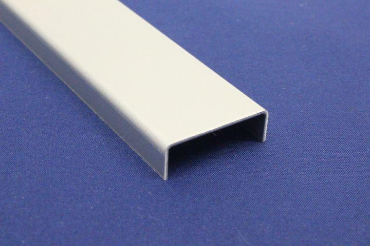 Bekannt U-Profil aus Aluminium 2-fach gekantet, Oberfläche auswählbar von QO07