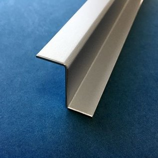 Versandmetall Z-Profiel Aluminium gezet tot Breedte c 30 mm, Lengte 1500 mm