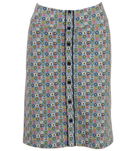 King Louie Button Skirt Tosca
