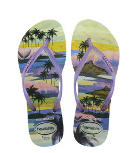 Havaianas Slim Paisage Menthal Green