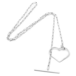 SeeMe Medium Heart Long Rock Chain