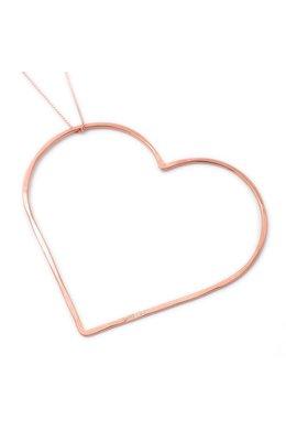 SeeMe Big Heart Long Venetian Chain