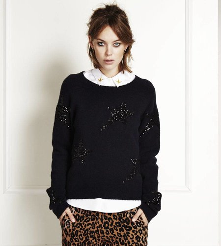 Fabienne Chapot Electric Star Pullover Navy