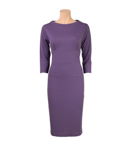 King Louie Gloria Dress Allure Smoked Purple