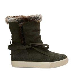 TOMS Vista Boot Suede Faux Fur