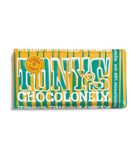Tony's Chocolonely Limited Edition: Wit Stracciatella