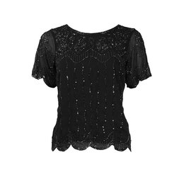 King Louie Embellished Top Boogie