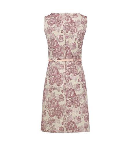 Le Pep Dress Ellen Off White Rhododendron