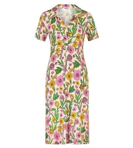 IEZ! Dress Polo Jersey Prints Pink
