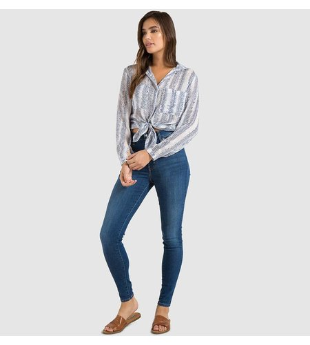 Bella Dahl Hipster Shirt Dusk Blue