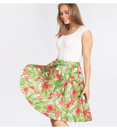 Blutsgeschwister Big Girls Dont Cry Skirt Exotic Evergreen
