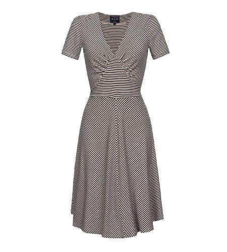 Vive Maria Sailor Saloon Dress Cream Navy