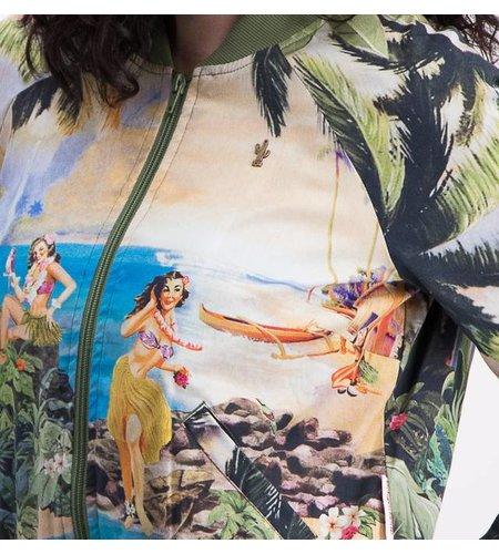 Blutsgeschwister Coconut Island Blouson Postcard From Tahiti