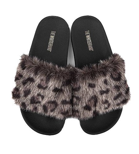 TheWhiteBrand Leopard Fur Grey