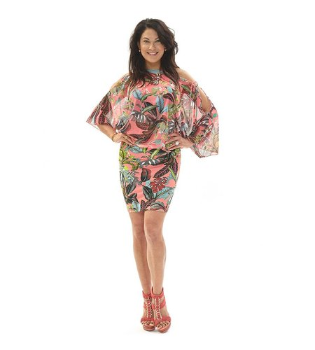 Tessa Koops Gina Dress Piazo Pink