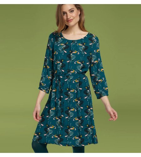 King Louie Billie Dress Mitsy Dragonfly Green