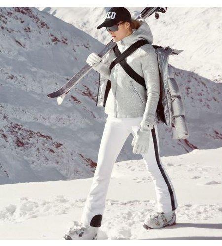 Goldbergh Argento Vest White