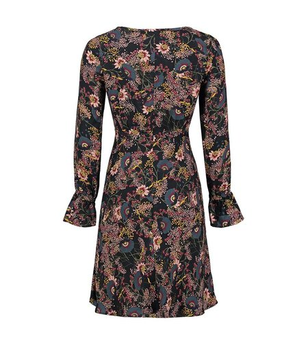 Le Pep Dress Fien Multi Black