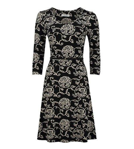 Le Pep Dress Florette Black