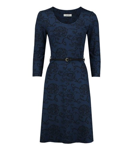 Le Pep Dress Florette Blue