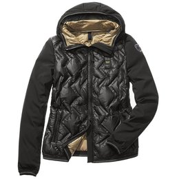 Blauer Matilde Nylon And Softshell Down Jacket