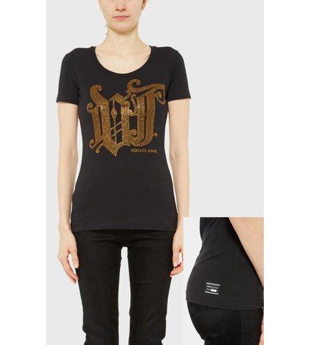 Versace Jeans T-Shirt Gothic Black