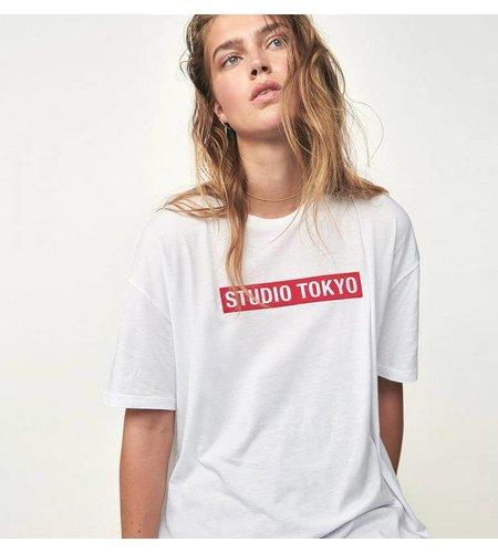 Zoe Karssen Studio Tokyo Boyfriend T-Shirt Optical White