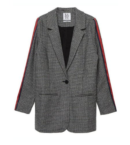 Zoe Karssen Tracksuit Stripe Blazer Moonless Night