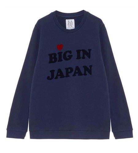 Zoe Karssen Big In Japan Loose Fit Sweat Medieval Blue