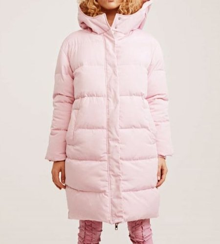Zoe Karssen ZK Oversized Hooded Puffer Pink Lady