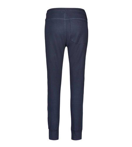 IEZ! Trouser French Knit Dark Blue