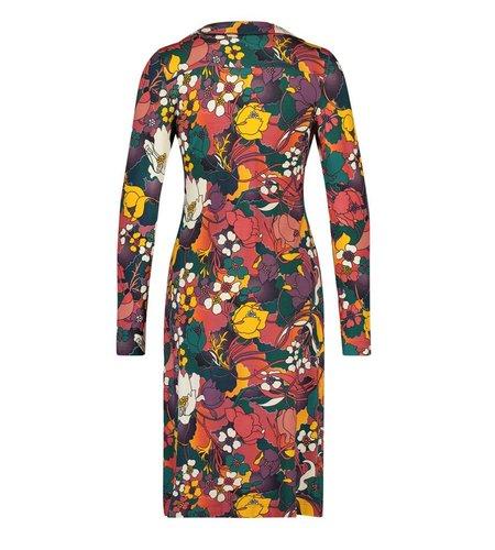 IEZ! Dress Polo Jersey Print Orange