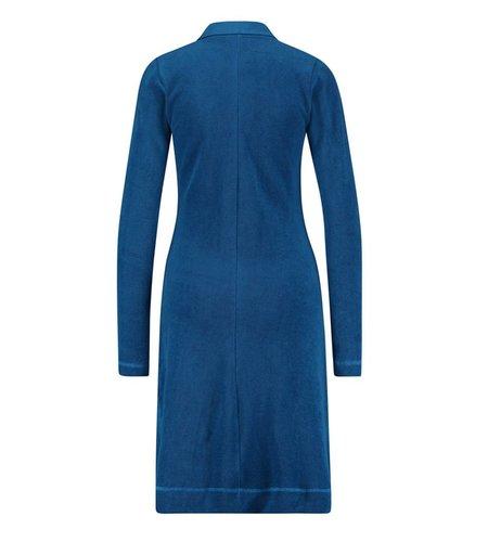 IEZ! Dress Terry Zipper Blue