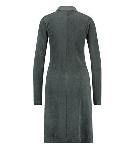 IEZ! Dress Terry Zipper Grey