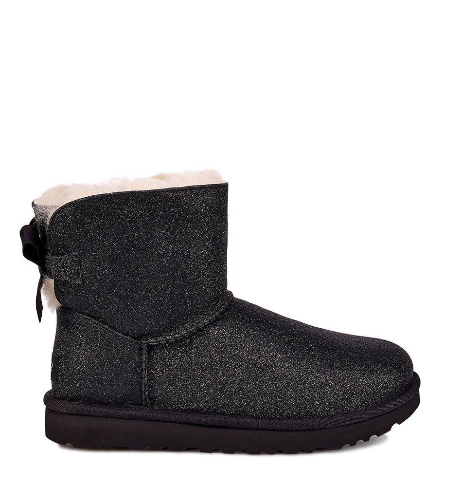6122f4ef306 Ugg mini bailey bow sparkle black bestellen hippe kippe jpg 950x1000 Black  uggs with bows