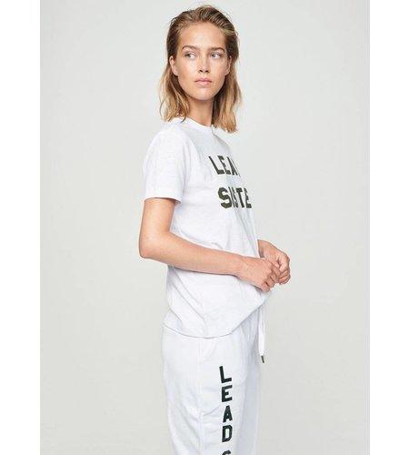 Zoe Karssen Lead Sister Loose Fit T-Shirt Optical White