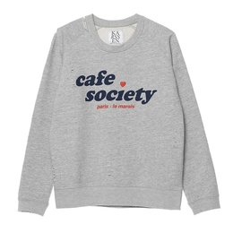 Zoe Karssen Cafe Society Loose Fit Sweat