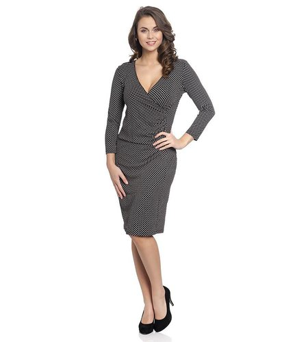 Vive Maria Diamonds Wrapdress Black