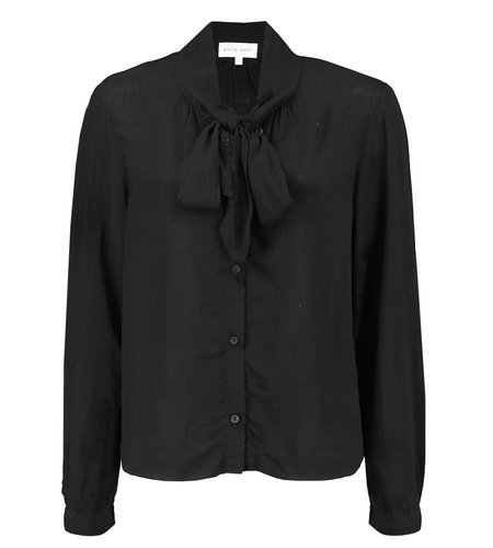 Bella Dahl Shirt Tail Button Down Black