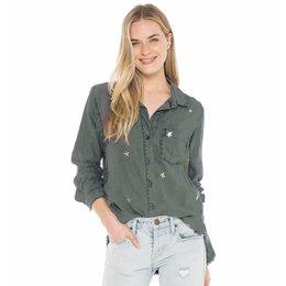Bella Dahl Pocket Front Shirt