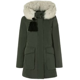 Peuterey Regina GB Slim Fit Parka With Fur