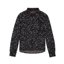 Superdry Elena Printed Shirt Night Sky Stars Black