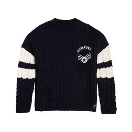 Superdry Midwest Varsity Slouch Knit