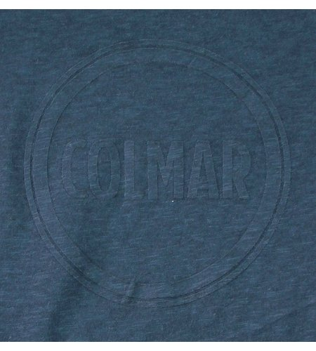 Colmar Solid Color T-shirt Navy Blue