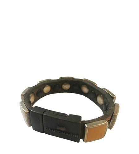 Campomaggi Bracelet Colorati Quadro Grigio Perla