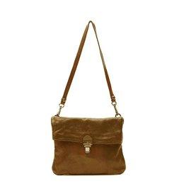 Campomaggi cross-body bag in leather 'Geranio'