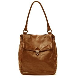 Campomaggi Single strap bag in leather 'Geranio'