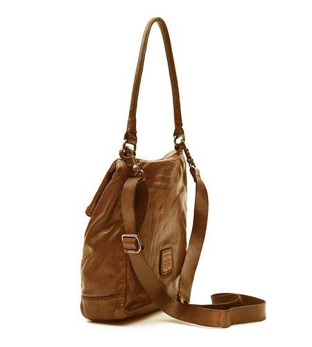 Campomaggi Single strap bag in leather 'Geranio'