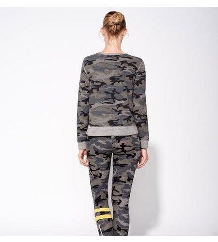 Sundry Double Zip Sweatshirt Grey